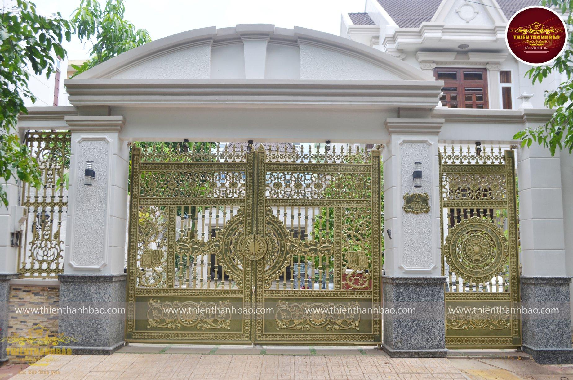 cổng biệt thự