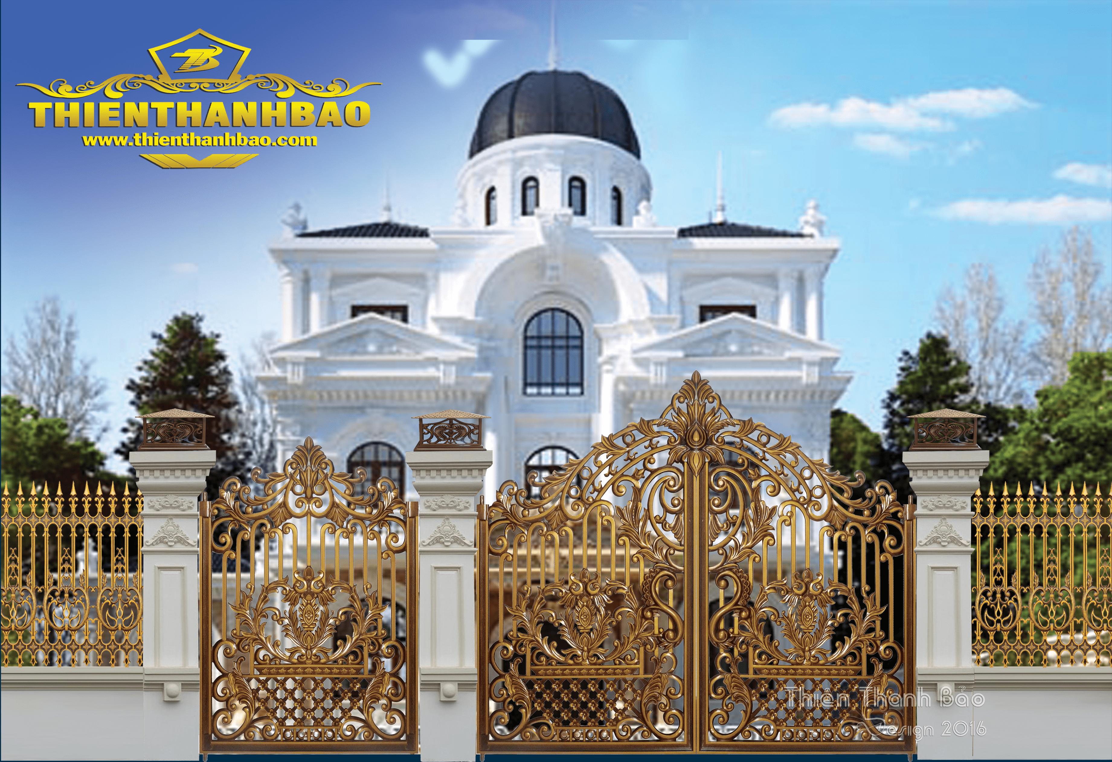 Cổng Nhôm Đúc hà nội
